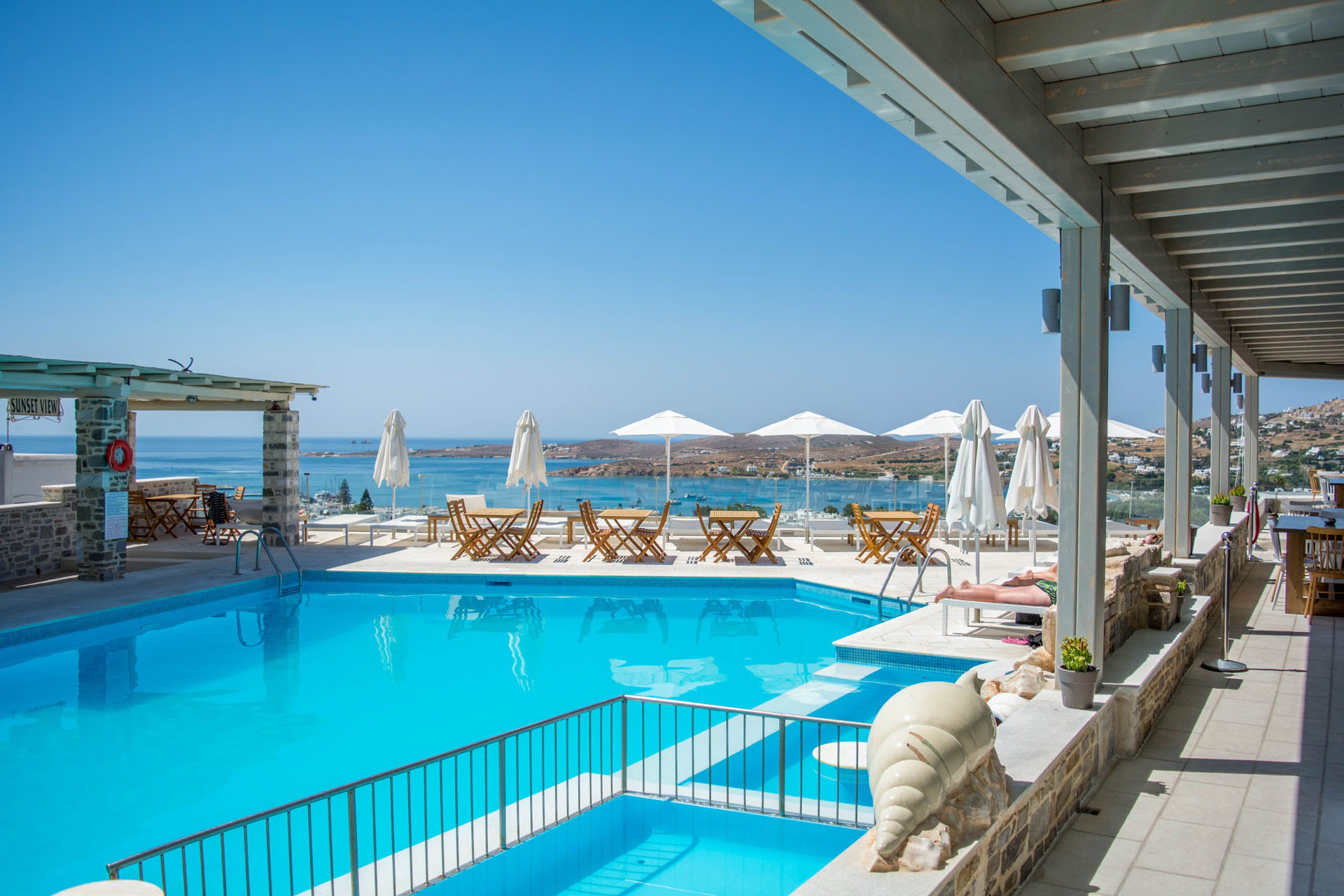 Paros Hotels with Pool